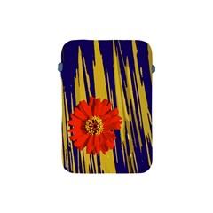 Red Flower Apple iPad Mini Protective Sleeve