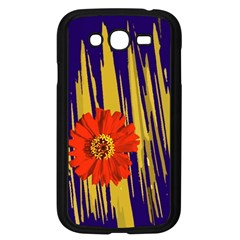 Red Flower Samsung Galaxy Grand Duos I9082 Case (black)