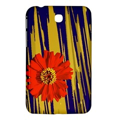 Red Flower Samsung Galaxy Tab 3 (7 ) P3200 Hardshell Case