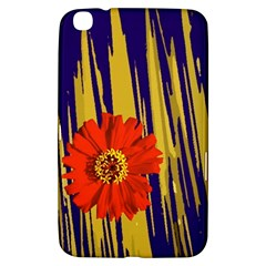 Red Flower Samsung Galaxy Tab 3 (8 ) T3100 Hardshell Case