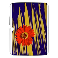 Red Flower Samsung Galaxy Tab 3 (10.1 ) P5200 Hardshell Case