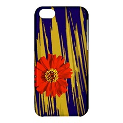 Red Flower Apple iPhone 5C Hardshell Case