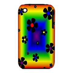Mod Hippy Apple iPhone 3G/3GS Hardshell Case (PC+Silicone)