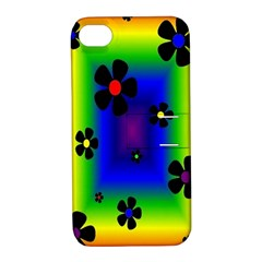 Mod Hippy Apple iPhone 4/4S Hardshell Case with Stand