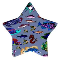 Fishy Star Ornament