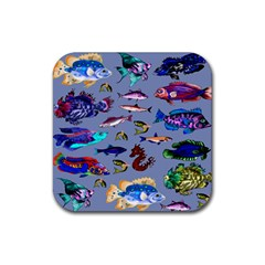 Fishy Drink Coasters 4 Pack (Square)
