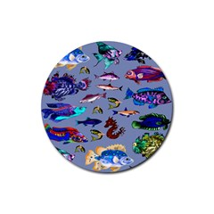 Fishy Drink Coasters 4 Pack (Round)