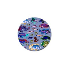 Fishy Golf Ball Marker 4 Pack