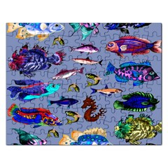 Fishy Jigsaw Puzzle (Rectangle)