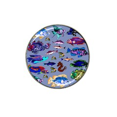 Fishy Golf Ball Marker 10 Pack (for Hat Clip)