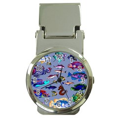 Fishy Money Clip with Watch