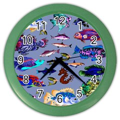 Fishy Wall Clock (Color)
