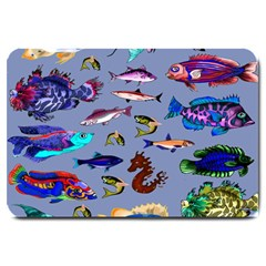 Fishy Large Door Mat