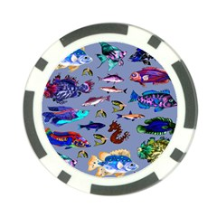 Fishy Poker Chip