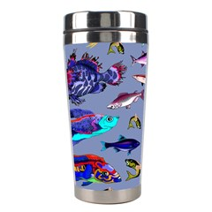Fishy Stainless Steel Travel Tumbler