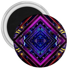 Galaxy 3  Button Magnet