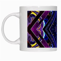 Galaxy White Coffee Mug