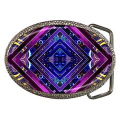 Galaxy Belt Buckle (Oval)