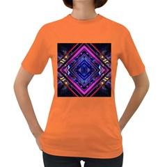 Galaxy Women s T-shirt (Colored)