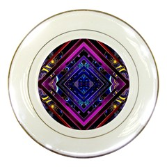 Galaxy Porcelain Display Plate