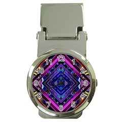 Galaxy Money Clip with Watch