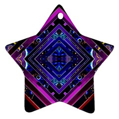 Galaxy Star Ornament (Two Sides)