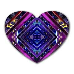 Galaxy Mouse Pad (Heart)