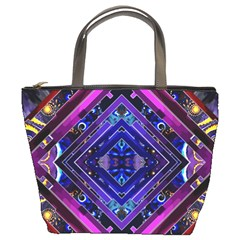 Galaxy Bucket Handbag