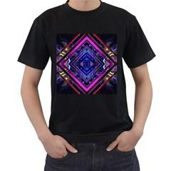 Galaxy Men s T-shirt (Black)