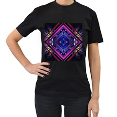 Galaxy Women s T-shirt (Black)