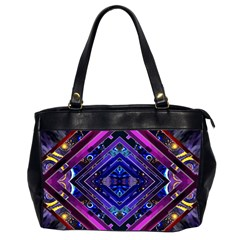 Galaxy Oversize Office Handbag (Two Sides)