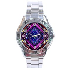 Galaxy Stainless Steel Watch