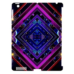 Galaxy Apple Ipad 3/4 Hardshell Case (compatible With Smart Cover)