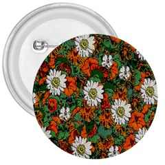 Flowers 3  Button