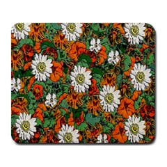 Flowers Large Mouse Pad (Rectangle)