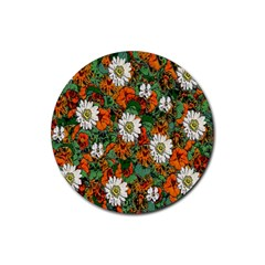 Flowers Drink Coaster (Round)