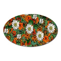Flowers Magnet (Oval)
