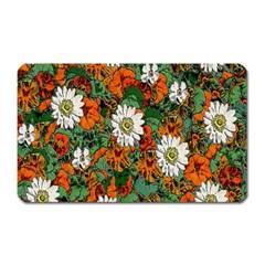 Flowers Magnet (Rectangular)