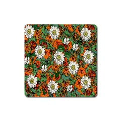 Flowers Magnet (Square)