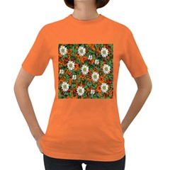 Flowers Women s T-shirt (Colored)