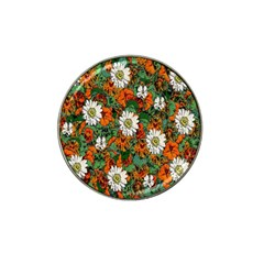 Flowers Golf Ball Marker (for Hat Clip)