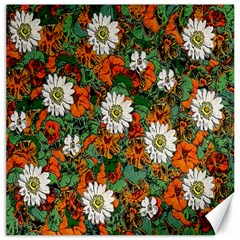 Flowers Canvas 20  x 20  (Unframed)