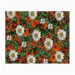 Flowers Glasses Cloth (Small, Two Sided)