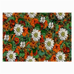 Flowers Glasses Cloth (Large)