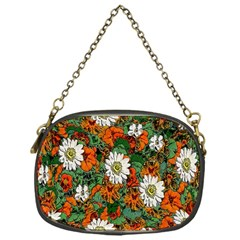 Flowers Chain Purse (One Side)