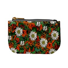 Flowers Coin Change Purse