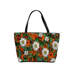 Flowers Large Shoulder Bag
