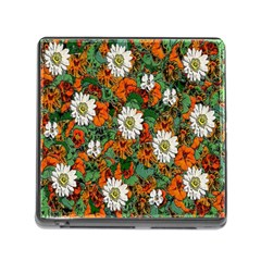 Flowers Memory Card Reader With Storage (square)