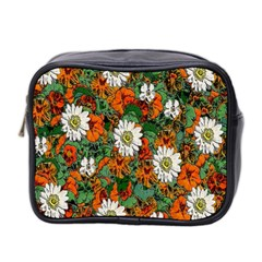 Flowers Mini Travel Toiletry Bag (Two Sides)