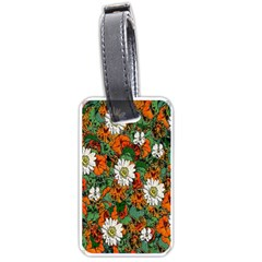 Flowers Luggage Tag (one Side)